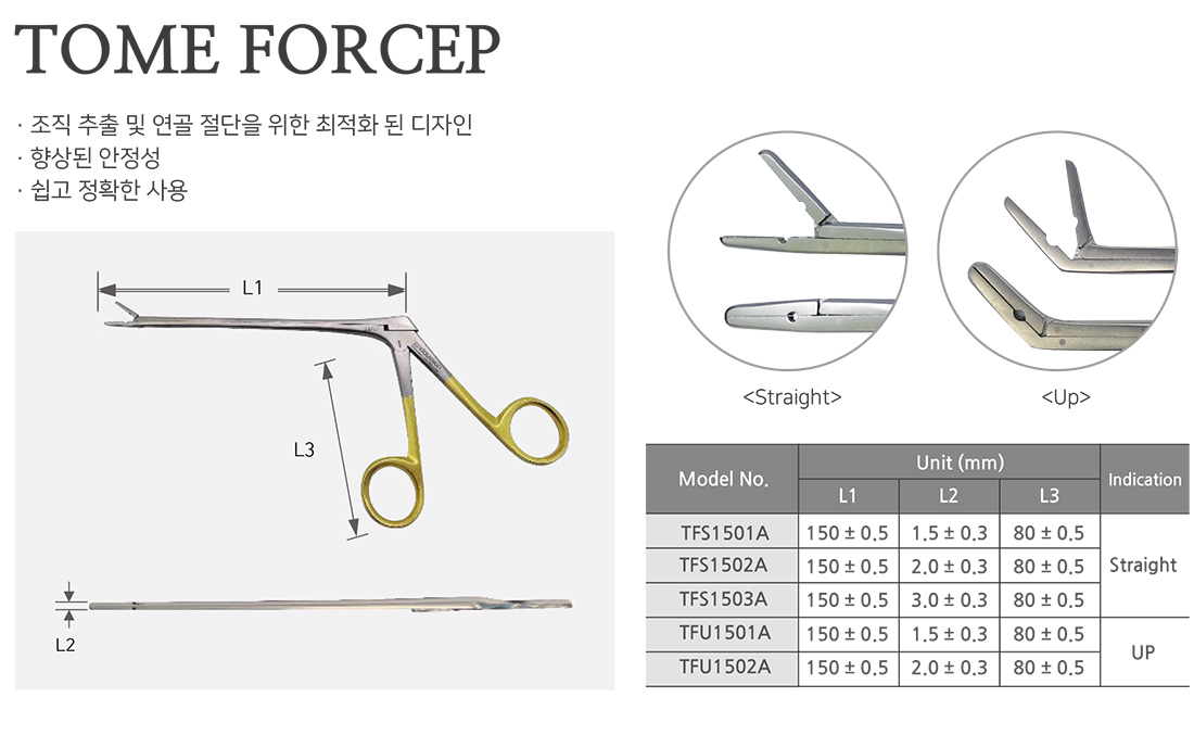 tome forcep